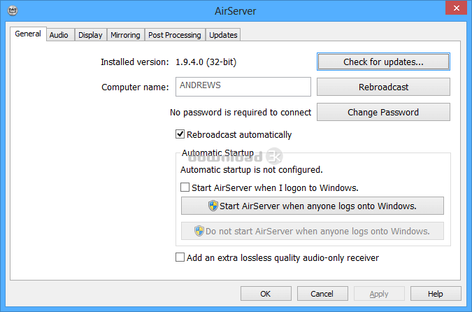 AirServer 7.2.0 Activation code