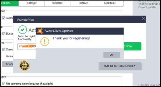 Avast Driver Updater 2.5.9 Crack Registration Key 2020