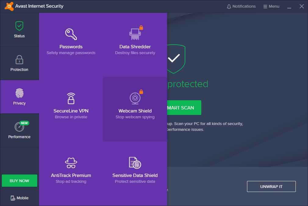 Avast Internet Security crack 2020
