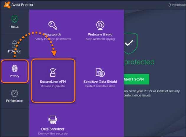 Avast SecureLine lincese file till 2050
