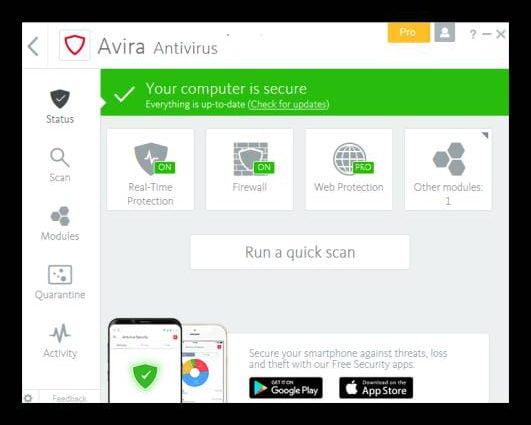 Avira Antivirus Pro Crack License File Till 2020