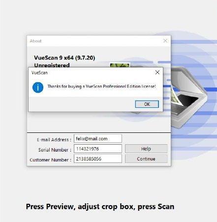 Vuescan Pro Activation Code