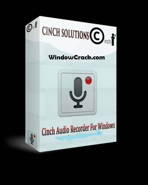 cinch audio recorder crack