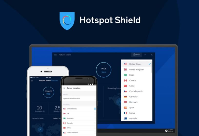 hotspot shield crack only