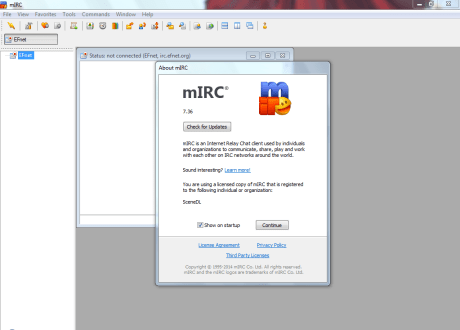 free download mirc without registration